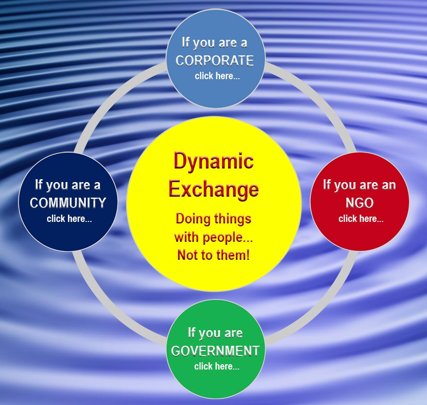 How can you get involved with Dynamic Exchange?
